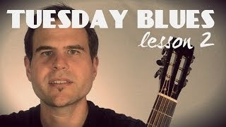 The A7 Chordy Lick | Tuesday Blues #002
