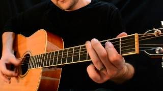 Acoustic Blues Lesson - How to Write Blues Licks Using MICRO LICKS