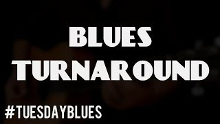 Your First Blues Turnaround in E | #TuesdayBlues 034
