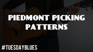 TB 035 Piedmont Blues Picking Patterns