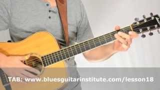 Easy Piedmont Blues Lick in C | Tuesday Blues #018