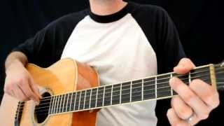 Quick and Easy Acoustic Blues Lick in A