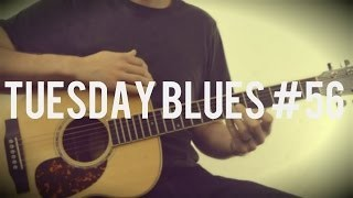 Sweet Acoustic Blues Lick in A | Tuesday Blues #056