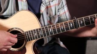 "How to Play ""Burnin' it Down"" by Jason Aldean on guitar - super easy acoustic songs for guitar"
