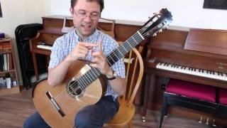 Lesson: Barre Exercise for Classical Guitar