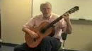 Classical Guitar Lesson #1: positioning  the guitar