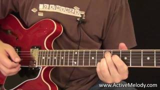 B.B. King's Guitar Style - Guitar Lesson