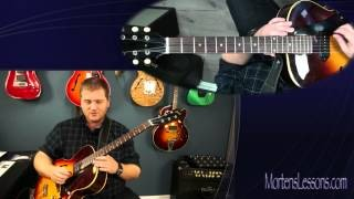 George Benson Licks - Jazz Guitar Lesson by MortensLessons.com