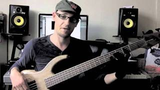II V I Jazz Lick #1 Bass Lesson with Scott Devine (L#24)