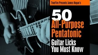 Pentatonic Licks - #26 Get'r Done - Guitar Lesson - James Hogan