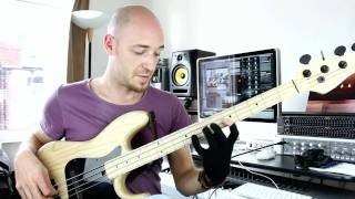 E Minor 7 Jazz Lick for Bass - Bass lesson with Scott Devine (L#39)