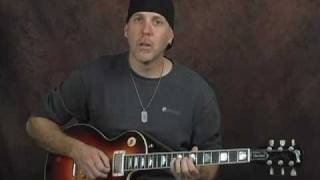 Many killer blues rock licks solo lead electric guitar lesson