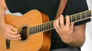 Funky Bass Lick for Acoustic Blues | Tuesday Blues #014