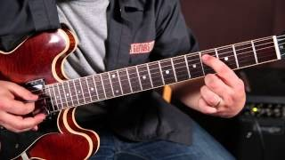"How to ""Jazz"" up Your Blues Chords - Blues Guitar Lessons - Embellishments by Marty Schwartz"