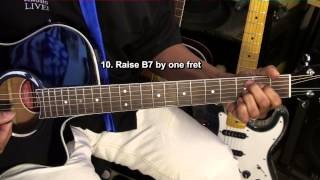 Slow Blues Prt2 How To Play Old School 12 Bar Blues Guitar Lesson #8 EricBlackmonMusicHD