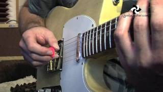 12 Bar Shuffle Picking Techniques (Blues Rhythm Guitar - Guitar Lesson BL-202) How to play