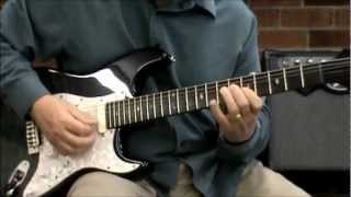 Jazz Influenced 12 Bar Blues Lesson - Chords & Solos - Randy Clay