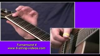 10 Essential Blues Turnarounds, Guitar Lesson by Mike Herberts