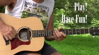 Full 12 Bar Blues Lesson with TAB (Slow Mo Blues) Learn to