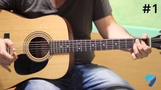 Guitar Chop #1 - ACOUSTIC BLUES TURNAROUND IN E