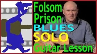 Folsom Prison Blues Solo Guitar Lesson