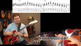 Jazz Guitar Lesson: Sweet Comping Fills For Maj7 Chords