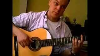 Acoustic Smooth Jazz Guitar Lesson: 4 of 4