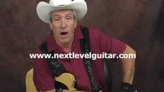 Country hot chicken picking fender telecaster lead solo licks electric guitar lesson