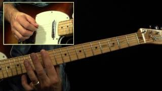 Merle Haggard - How To Play Workin Man Blues Guitar Lesson