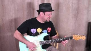 Blues Rock Guitar Lessons - Guitar Solos - Tips on Phrasing for Solos