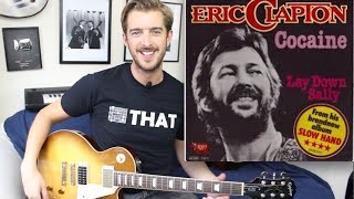 Cocaine - Eric Clapton Guitar Tutorial - Easy Riffs Lesson #4