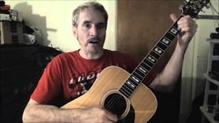 Dave's Guitar Lessons - Me and Julio Down By the Schoolyard - Paul Simon