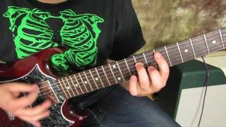 Motorhead - Ace of Spades - Rock Guitar Lesson Tutorial