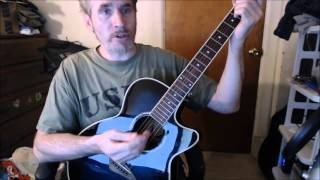 Dave's Guitar Lessons - Great White Buffalo - Ted Nugent