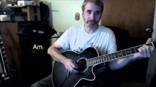 Dave's Guitar Lessons - Wings of Death (Acoustic Intro) - Null N Void