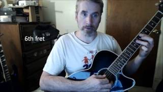 Dave's Guitar Lessons - Maybe I'm Amazed - Paul McCartney & Wings