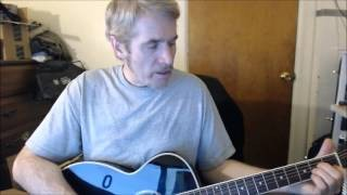 Dave's Guitar Lessons - Ghost Riders In the Sky - Johnny Cash/The Outlaws