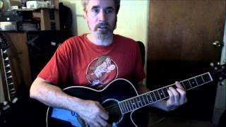 Dave's Guitar Lessons -The Cover Of The Rolling Stone - Dr. Hook (& The Medicine Show)