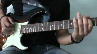 Heavy Metal Rhythm (Intermediate Level) Guitar Lesson By Joseph Zuñiga.