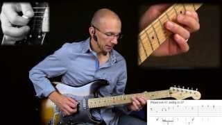 Stretching The Blues Lesson #2 - adding Major 6th to Minor Pentatonic