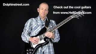 Jimmy Page Guitar Licks - Lesson from Dolphinstreet