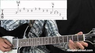 Blues Guitar Triplet Lick Lesson