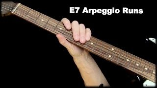 E7 Arpeggio Runs - Q & A with Robert Renman