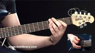 Killer Metal Guitar Riffs | Learn To Play 20 Metal Riffs Guitar Lessons With Andy James Licklibrary