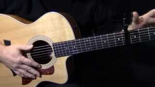 "lesson - how to play ""Don't Know Why"" on guitar by Norah Jones acoustic guitar lesson tutorial"