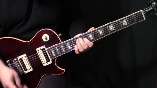"how to play ""Lyin' Eyes"" on guitar by The Eagles 