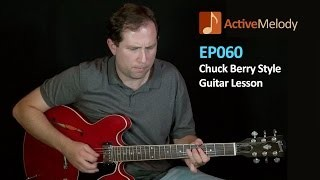 Chuck Berry Lead Guitar Lesson -- EP060