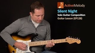 Silent Night Guitar Lesson - Easy Guitar Lesson - EP128