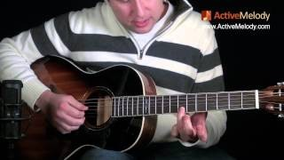 Eric Clapton Acoustic Blues Lead Guitar Lesson -- Ragtime: EP015