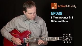 How to play turnarounds on guitar -- Turn around guitar lesson - EP038